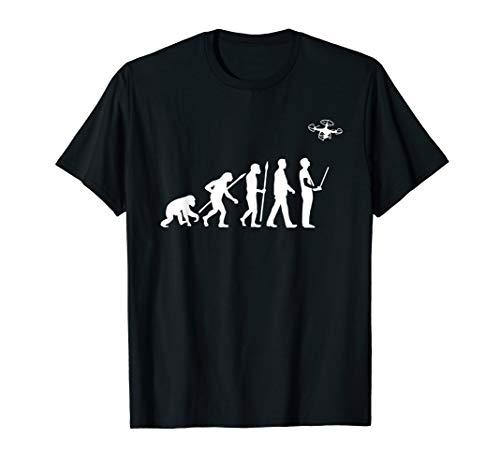 Quadcopter T-Shirt Funny Drone FPV Shirt Evolution T-Shirt