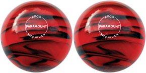 EPCO-Duckpin-Bowling-Ball-2-Paramount-Glow-Red-Black-Balls