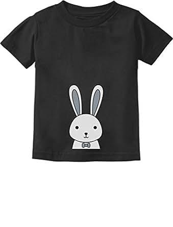 Cute Easter Bunny Boys/Girls Toddler Kids T-Shirt 2T Black