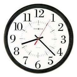 MIL625323 - Wall Clock, Shatter-Resistant Acrylic Lens - Howard Miller Alton Auto Daylight Savings Wall Clock - Each