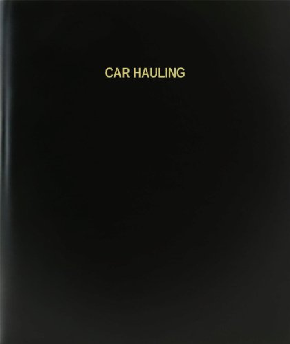 (BookFactory Car Hauling Log Book / Journal / Logbook - 120 Page, 8.5