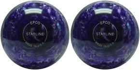 EPCO-Duckpin-Bowling-Ball-Starline-Purple-Pearl-2-Balls