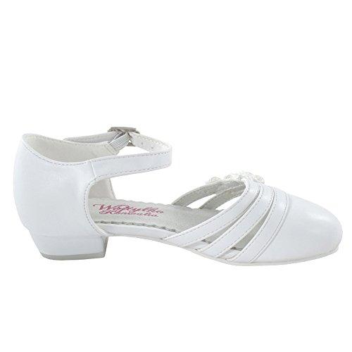 Ballerinas Mädchen Schuhe Festliche Kommunionschuh (1347)