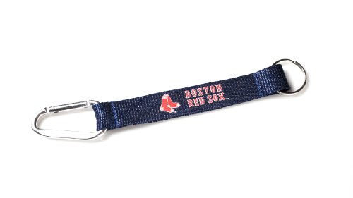 (MLB Boston Red Sox Carabiner Lanyard Keychain)