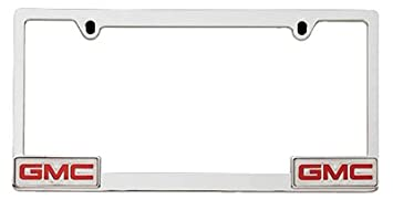 pilot automotive wl041 c gmc license frame chrome