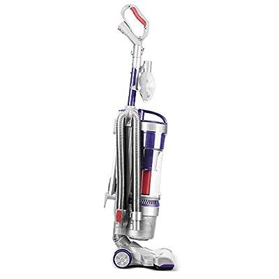 OKVAC Bagless Upright Vacuum Cleaner Dual Motor HEPA Filtration, Carpet, Tiles and Wood Floors Corded Upright
