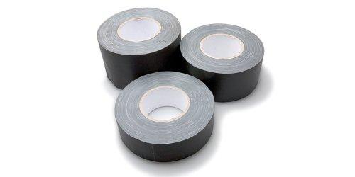 Hosa GFT-450BK BULK 3 inch Black Gaffer Tape, 60 ()