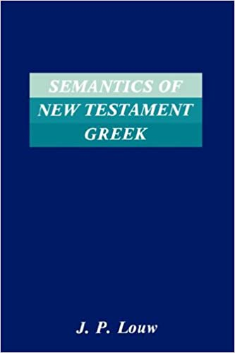 Image result for Louw, Semantics of New Testament Greek