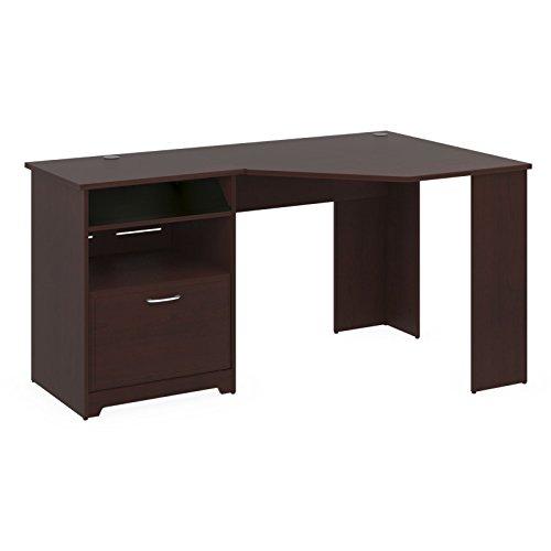 Cabot collection corner desk small corner computer desk - Small corner desks for small spaces collection ...