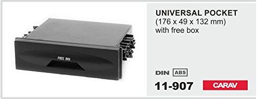/907/DIN cassetto vano portaoggetti per autoradio Universal CARAV 11/