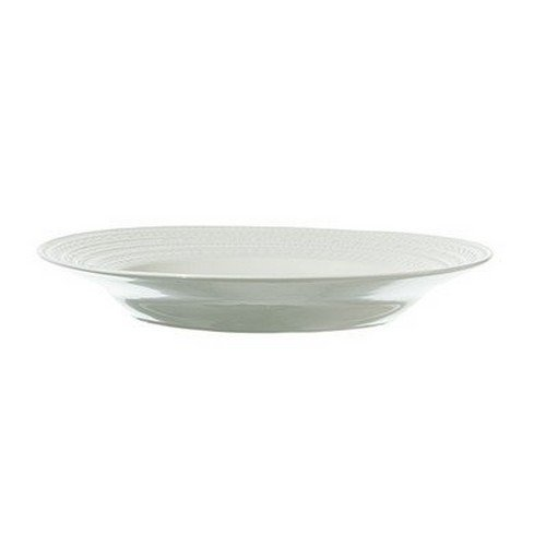 La Porcellana Bianca Casale Rim Soup Plate, Set of 6, 8.5