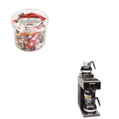 KITBUNVP172BLKOFX00013 - Value Kit - Bunn Coffee 12-Cup Two-Station Commercial Pour-O-Matic Coffee Brewer (BUNVP172BLK) and Office Snax Soft amp;amp; Chewy Mix (OFX00013)