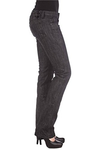 Brad P17072604965zu Donna Phard Jeans Denim 1199 Nero 1pqa67Fw
