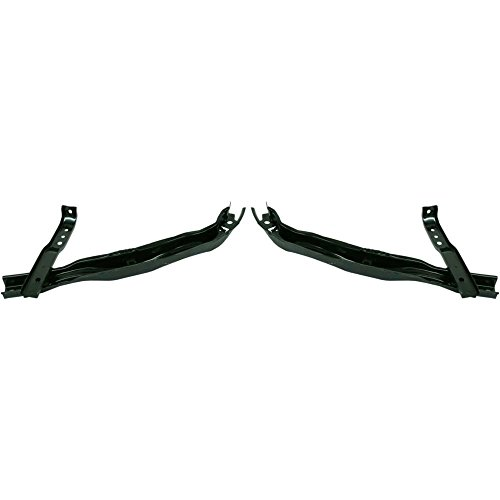 Bumper Bracket compatible with Acura RSX 02-04 Front Right and Left Side Set of 2 Steel