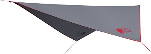 - Bear Butt Rain Fly Easy Set Up Portable Hammock Tarp Shelter - Made of Quality Lightweight Waterproof Tent Polyester - Perfect Cover While Backpacking Outdoors Camping And Hiking (Red)