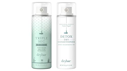 Drybar to Go Triple Sec 3 in 1 and Dry Conditioner 2 Piece Travel Size Bundle