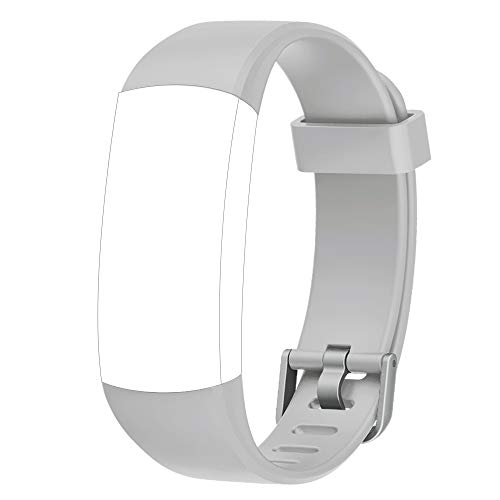 YAMAY Replacement Bands for Fitness Tracker with Color Screen (SW336) (Gray)