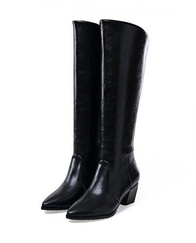 1TO9 - Zapatillas altas mujer negro