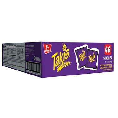 Takis Fuego (1 oz., 46 ct.) A1 (pack of 6)
