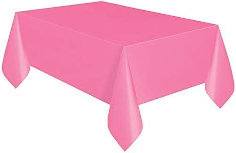 SMARTRICH Mantel de plástico desechable para Mesa de Fiesta ...