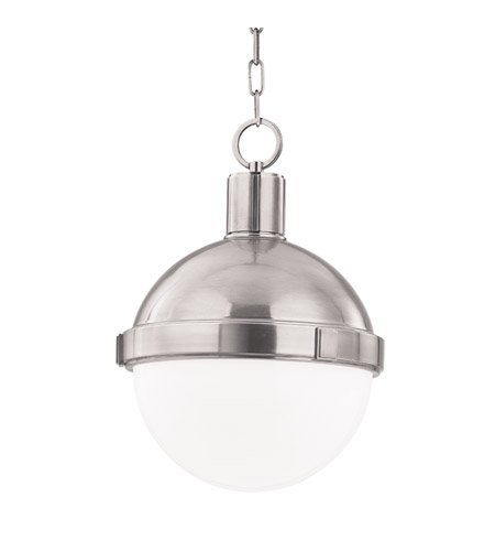 Hudson Valley Lighting 609-SN One Light Pendant from The Lambert Collection, 1