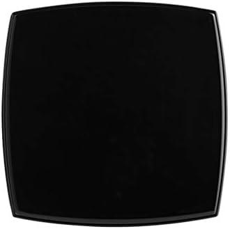 両面美容拡大可能折り畳み式充電を埋めるLEDライト小型鏡付きポータブルメイク、 JZ02/25 (Color : Diamond (black))