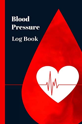 """Blood Pressure Log Book: Notebook for 1 year of daily record - monthly blood pressure curve - Medication follow-up - 130 pages - Practical size 6"""" x 9"""""""