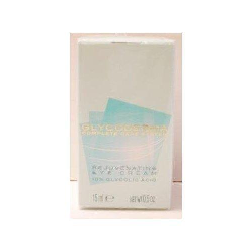 Glycoderma Complete Care System Rejuvenating Eye Cream ~ 10% Glycolic Acid 0.5 oz (15 ml) by Glycoderma