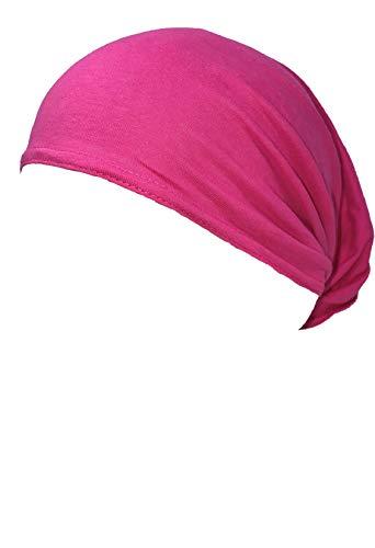 (Hot Pink Bandanna Schampa Doo - Z Multi Wear Use Headwrap Headscarf Durag Face Mask Scrunchie ...)