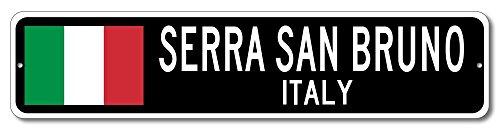 Italy Flag Sign - SERRA SAN BRUNO, ITALY - Italian Custom Flag Sign - 9