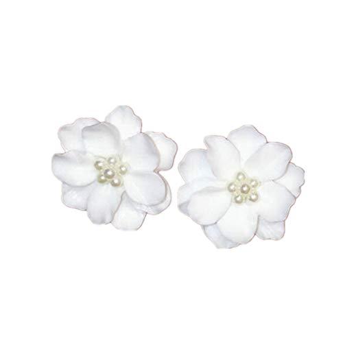 - Dolland Fashion Elegant 3D Flower Stud Earrings Ear Dangle Chic Earrings Girl Jewelry