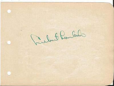 (Lebert Lombardo Signed Vintage Album Page B)