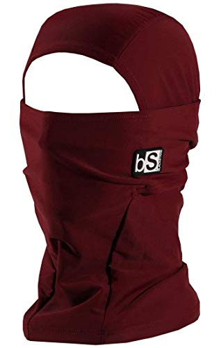 BLACKSTRAP Hood Dual Layer Balaclava Face Mask, Cold Weather Headwear for Men and Women, Wine (Snowboard Goggles Wine)