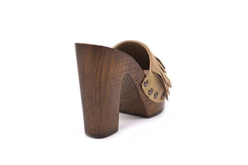 Conbuenpie  7396, Tacon and Platform - Made in Italy femme