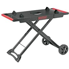 Make it even easier to move and use your Mr. Steak Portable Grill with the Mr. Steak Portable Grill Cart. A collapsible design for easy transport to and from campsites, tailgates, beach parties, and more, this portable cart also holds the gri...
