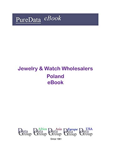 Jewelry & Watch Wholesalers in Poland: Product Revenues