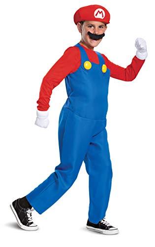 Disguise Nintendo Mario Deluxe Boys'