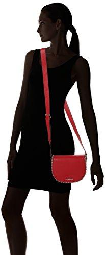 Borsa x Love Sacs B Rouge baguette Moschino 6x16x22 femme H Pebble cm Red T Vitello Rosso qRTxa5wC4R