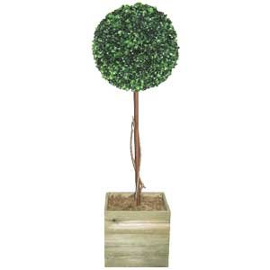 Artificial Tree 3ft Topiary Ball tree Topiary tree Faux tree