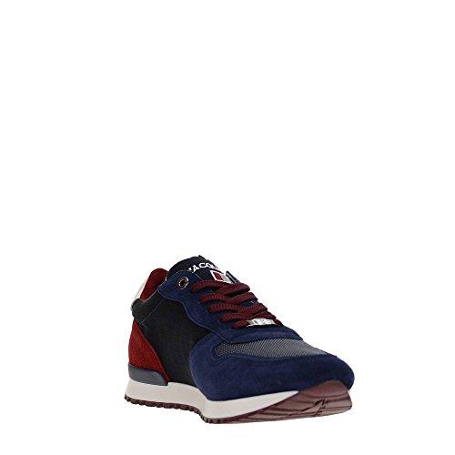 DAcquasparta BOTTICELLI U700 Sneakers Herren Wildleder Blau
