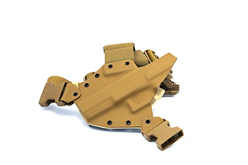 GunfightersINC Kenai Chest Holster for Glock 20/21/40 MOS