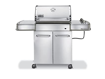 Weber Genesis S 310 >> Amazon Com Weber 3770001 Genesis S 310 Lp Gas Grill Stainless