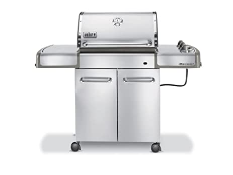 Weber Genesis S 310 >> Amazon Com Weber 3770001 Genesis S 310 Lp Gas Grill Stainless