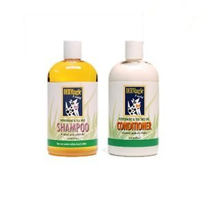 DERMagic Peppermint & Tea Tree Oil Shampoo & Conditioner 12 fl. oz.
