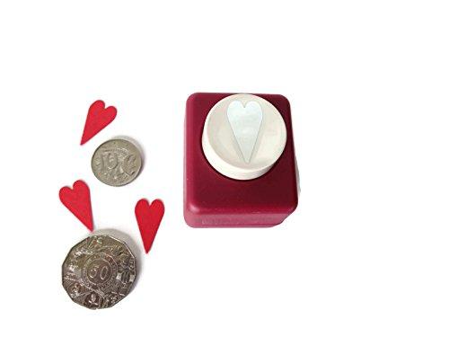 (Medium Modern Heart Emagination Punch for Card Making &)