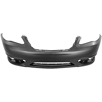 MBI AUTO Primered CH1100964 Rear Bumper Replacement for 2011-2014 Chrysler 200 Sedan 11-14