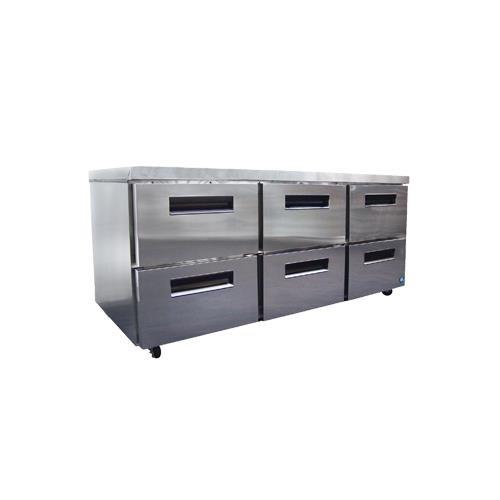 Commercial Undercounter Series Refrigerator - CRMR72-D6 72