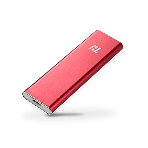THU 1TB External SSD Portable Solid State Drive USB 3.1 Gen 1 Typ-c Mini Size and Superfast Read/Write Speeds for Latop Desktop Tablet (Best Read Write Speed Ssd)