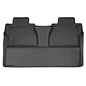 Husky Liners 53841 Fits 2014-20 Toyota Tundra CrewMax X-act Contour 2nd Seat Floor Mat (Full Coverage), Black