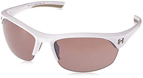 (Under Armour Ua Marbella Wrap Sunglasses, Black, 62 mm)